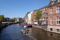 Canales de Amsterdam Foto de archivo