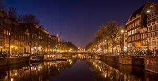 Canales de Amsterdam Fotografía de archivo libre de regalías