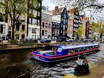Canales de amsterdam Royalty Free Stock Photo