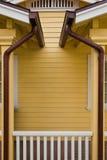 Canales de cobre Imagenes de archivo