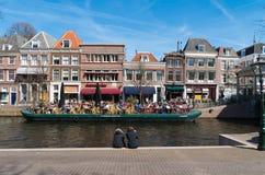 Canales de Leiden Foto de archivo libre de regalías