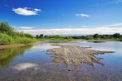 Canales de sequía Imagen de archivo