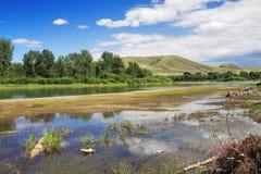 Canales de sequía Fotografía de archivo