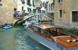 Canales de Venecia Imagenes de archivo