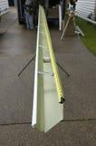 Canales inconsútiles que son sacados para la reparación casera Fotografía de archivo
