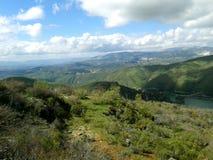 Canales rezerwuar, GÃ ¼ ejar sierra, sierra Nevada, Hiszpania zdjęcia royalty free
