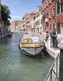 Canales, Venecia, Italia Foto de archivo libre de regalías