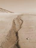 Canaleta da areia Imagens de Stock