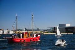 Canaleta de Copenhaga Fotos de Stock Royalty Free