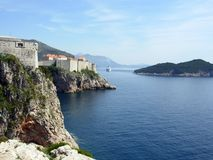 Canaleta de Dubrovnik Foto de Stock Royalty Free