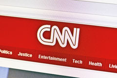 Canaleta do CNN fotografia de stock royalty free