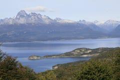 Canaleta do lebreiro, Ushuaia Imagem de Stock Royalty Free