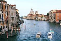 Canaleta grande em Veneza Foto de Stock