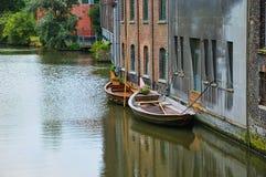 Canaleta no Gent Imagem de Stock Royalty Free