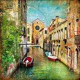 Canaletas Venetian imagens de stock royalty free