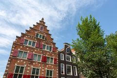 Canalhouse sul Sint Olofssteeg a Amsterdam immagine stock libera da diritti