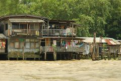 Canali a Bangkok. Immagine Stock Libera da Diritti