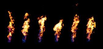 Canali del fuoco Fotografia Stock