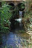 Canali dell'acqua Immagine Stock