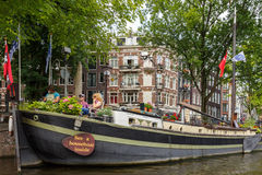 Canali di Amsterdam Immagine Stock Libera da Diritti