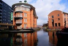 Canali di Bridgewater, Manchester, Regno Unito fotografia stock libera da diritti