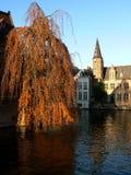 Canali di Bruges Immagine Stock Libera da Diritti