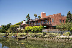 Canali di Los Angeles Venezia fotografia stock