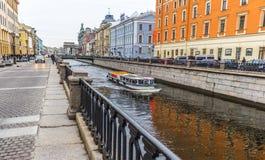 Canali di St Petersburg Immagini Stock Libere da Diritti