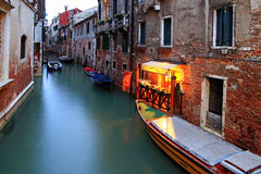Canali di Venezia immagini stock