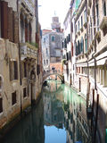 Canali di Venezia Fotografia Stock Libera da Diritti