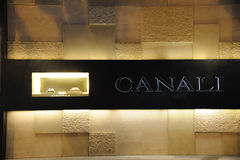 Canali  Fashion Boutique Stock Photos