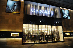 Canali  Fashion Boutique Stock Image
