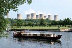 Canali navigabili industriali Fotografia Stock Libera da Diritti