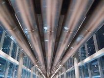 Canalisation à la tour de Petronas Image libre de droits