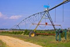 Canalisation d'irrigation de campagne image libre de droits
