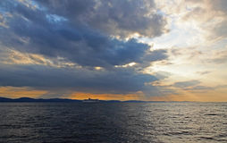 Canalisation d'océan Images stock