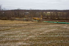 Canalisation dans Pennsyvania Photographie stock libre de droits