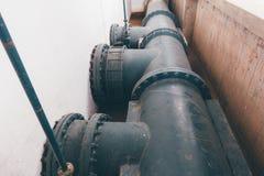 Canalisation de l'eau image stock