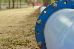 Canalisation de l'eau photo libre de droits