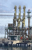 Canalisation de méthane Image stock