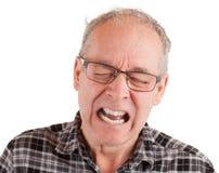 Canalisation en douleur photographie stock