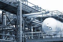 Canalisations et réservoirs de destillation Photo libre de droits