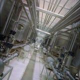 Canalisations industrielles Photos libres de droits