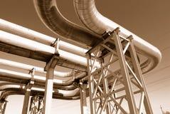 canalisations industrielles Photo libre de droits