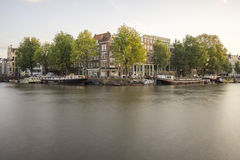 Canals of Amsterdam Royalty Free Stock Photo