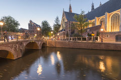 Canals of Amsterdam Royalty Free Stock Image