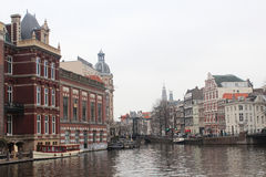 The Canals of Amsterdam Royalty Free Stock Photos