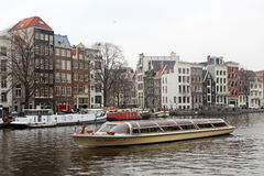 The Canals of Amsterdam Royalty Free Stock Images