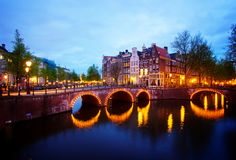 Canals of Amsterdam,  Netherlands Royalty Free Stock Images