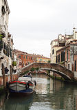 Canals and bridges-III-Venice-Italy Royalty Free Stock Images